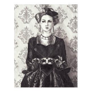 Königin der Herzen - Postkarte
