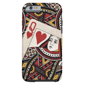 Königin der Herzen Tough iPhone 6 Hülle