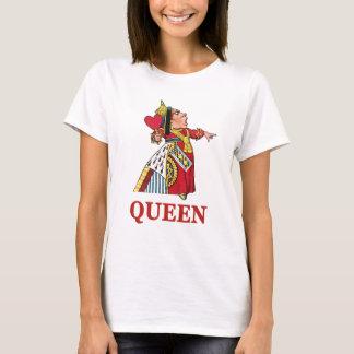 Königin der Herzen von der Alicen im Wunderland T-Shirt