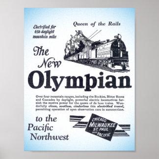Königin der Schienen - neuer Olympier 1929 Poster
