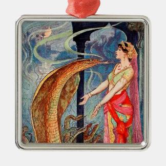Königin der Schlangen Silbernes Ornament