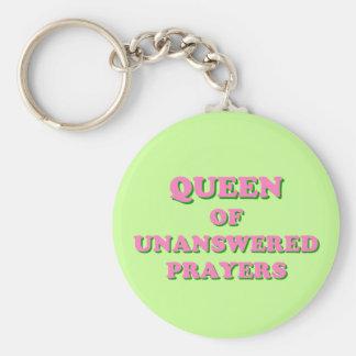 Königin der unbeantworteten Gebete Standard Runder Schlüsselanhänger