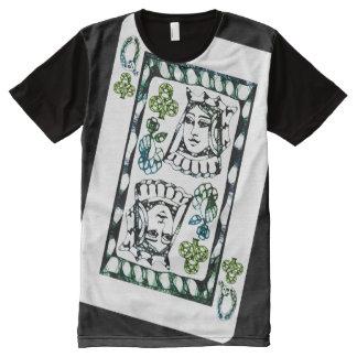 Königin der Vereine T-Shirt Mit Bedruckbarer Vorderseite