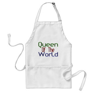 Königin der Welt Schürze