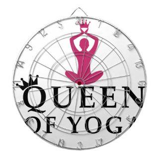 Königin der Yogakrone Dartscheibe
