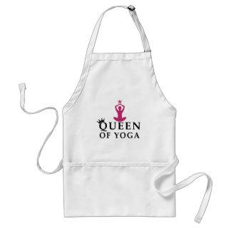 Königin der Yogakrone Schürze