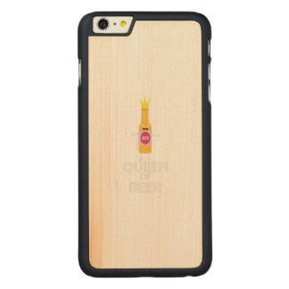 Königin des Bieres Zh80k Carved® Maple iPhone 6 Plus Hülle