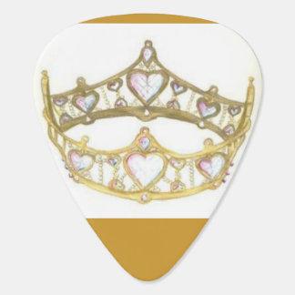 Königin des Herzkrone Tiara-Plektrums Plektron