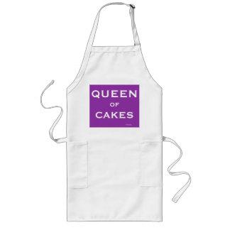 Königin des Kuchen-lustiges spezielles Lange Schürze