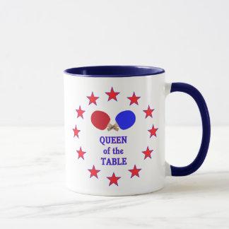 Königin des Tabellen-Klingelns Pong Tasse