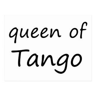 Königin des Tangos! Postkarte