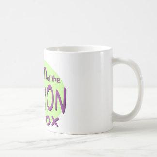 Königin des Zeichenstift-Kastens Kaffeetasse