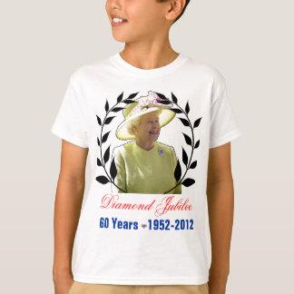 Königin-Diamant-Jubiläum 60 Jahre Shirt- T-Shirt
