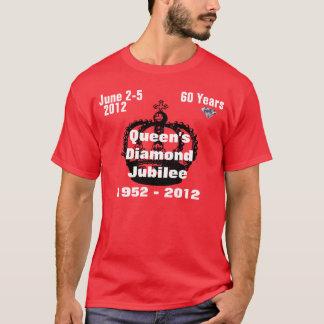 Königin-Diamant-Jubiläum-T - Shirt 1952-2012