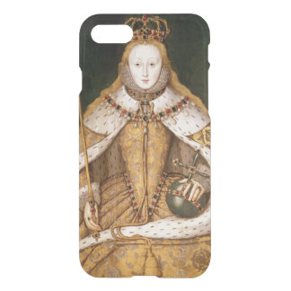 Königin Elizabeth I in den Krönungs-Roben iPhone 8/7 Hülle