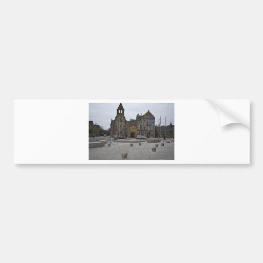 Königin-Gebäude Auto Sticker