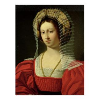 Königin Giovanna I von Neapel, 1842 Postkarte