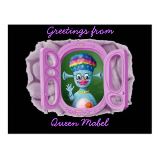Königin Mabel u. Cedric Postkarte