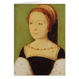 Königin Madeleinedes Frankreich von Schottland, 15 Grußkarte