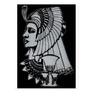 Königin Nefertiti Postkarte