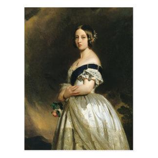 Königin Victoria 1842 Postkarte