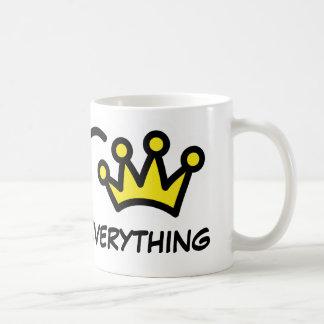 Königin von alles | lustige Tasse für Frauen