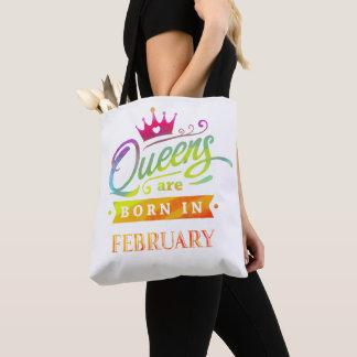 Königinnen sind geborenes im Februar Tasche
