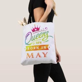 Königinnen sind geborenes im Mai Tasche