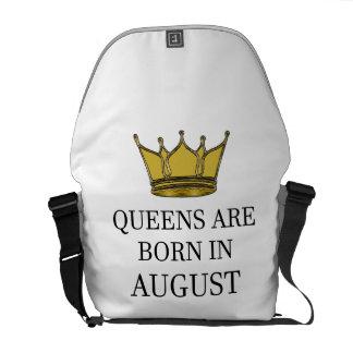 Königinnen sind im August geboren Kuriertasche