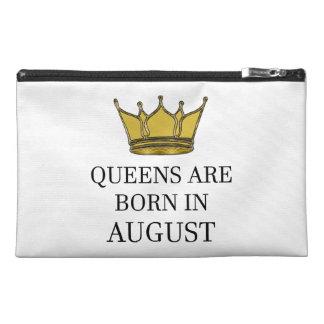Königinnen sind im August geboren Reisekulturtasche