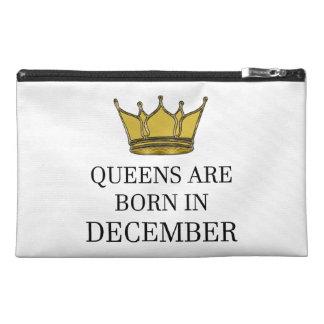 Königinnen sind im Dezember geboren Reisekulturtasche