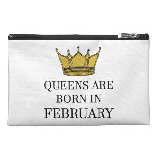 Königinnen sind im Februar geboren Reisekulturtasche