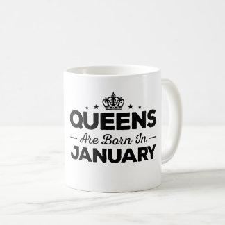 Königinnen sind im Januar geboren Kaffeetasse