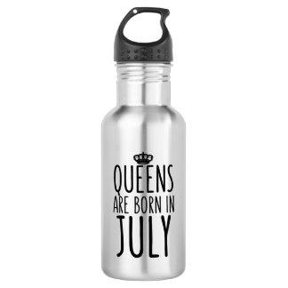 Königinnen sind im Juli geboren Trinkflaschen