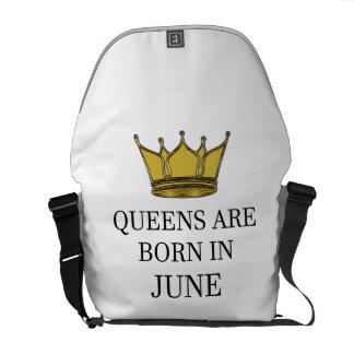 Königinnen sind im Juni geboren Kuriertasche