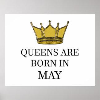 Königinnen sind im Mai geboren Poster