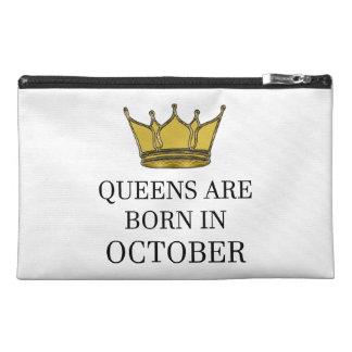 Königinnen sind im Oktober geboren Reisekulturtasche
