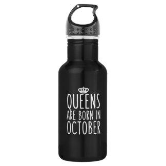 Königinnen sind im Oktober geboren Trinkflasche