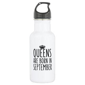 Königinnen sind im September geboren Trinkflaschen