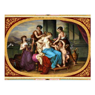 Königliche alte Hauptentwurfs-Postkarte Wiens Postkarten