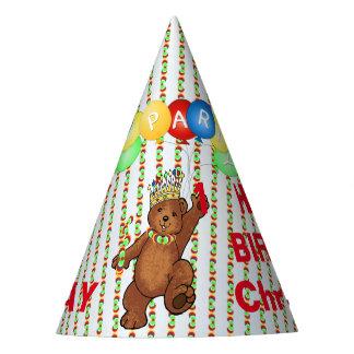 Königliche Bärn-Gewohnheits-1. Geburtstag Partyhütchen