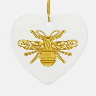 königliche Biene, Nachahmung der Stickerei Keramik Ornament