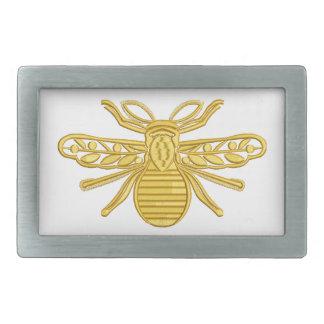 königliche Biene, Nachahmung der Stickerei Rechteckige Gürtelschnalle
