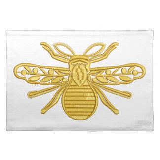königliche Biene, Nachahmung der Stickerei Stofftischset