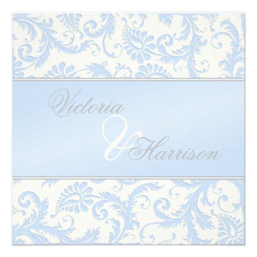 Königliche Blaue und Individuelle Einladungskarten