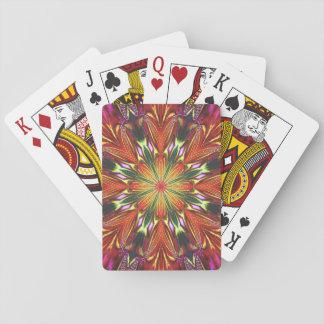 Königliche Dahlie Spielkarten