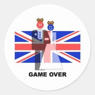 königliche Hochzeit Sticker