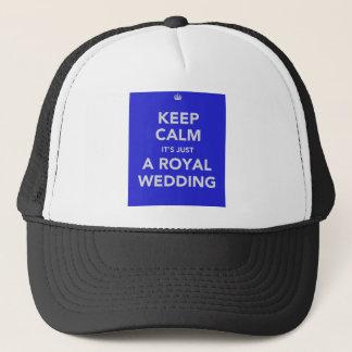 Königliche Hochzeit - Kate u. William - 29. April Truckerkappe