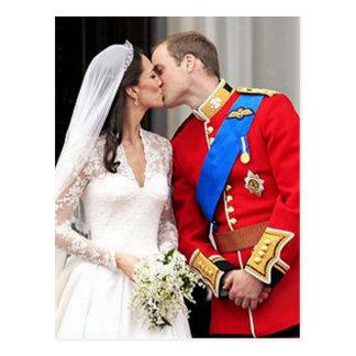 Königliche Hochzeit Postkarte