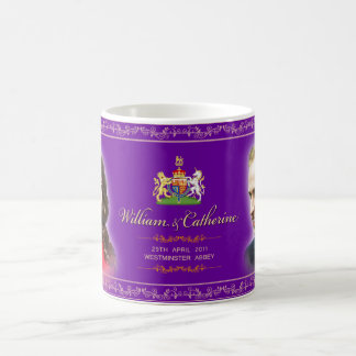 Königliche Hochzeit - William- u. Tasse